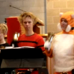 St. Olaf Hand Bell Choir performing Star Wars on Halloween 2010