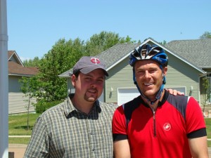 I share my June 1st birthday with a lifelong friend, Chris Blomberg