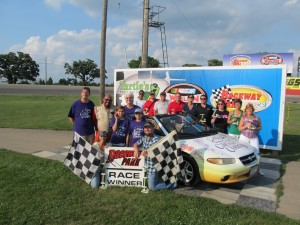 Stock Car Races Featuring Local Personalities